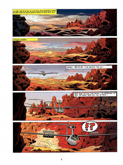 Page 4 Lefranc tome 7 - l'oasis