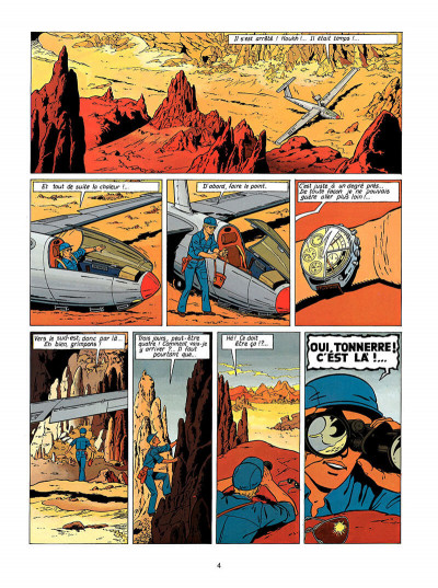 Page 5 Lefranc tome 7 - l'oasis