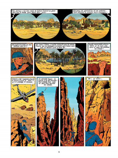 Page 6 Lefranc tome 7 - l'oasis