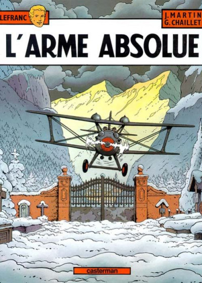Couverture Lefranc tome 8 - l'arme absolue