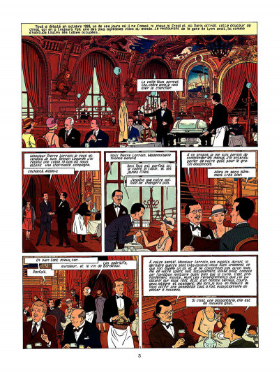Page 4 Lefranc tome 8 - l'arme absolue