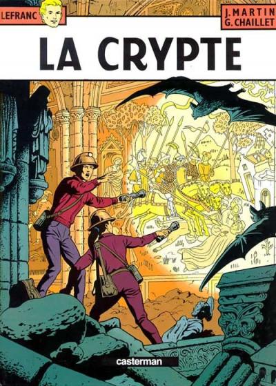Couverture Lefranc tome 9 - la crypte