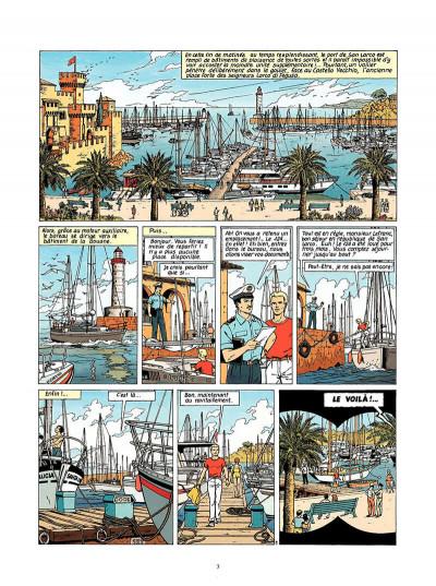 Page 4 Lefranc tome 9 - la crypte
