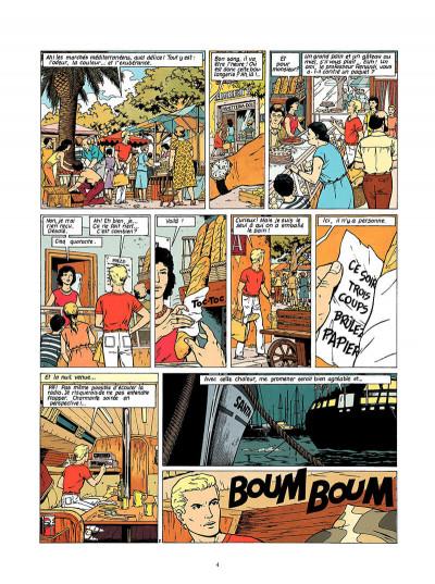 Page 5 Lefranc tome 9 - la crypte