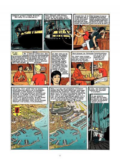 Page 6 Lefranc tome 9 - la crypte