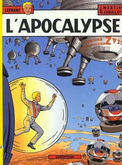 Couverture Lefranc tome 10 - l'apocalypse