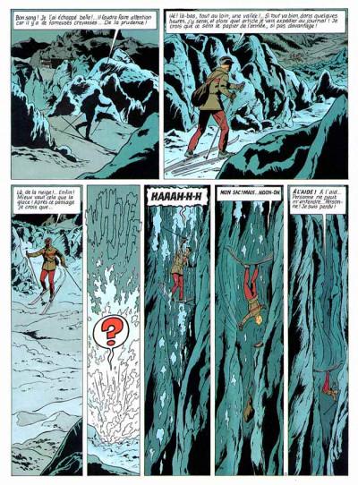 Page 1 Lefranc tome 10 - l'apocalypse