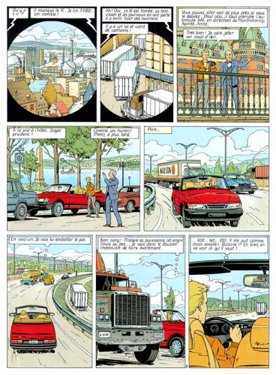 Page 1 Lefranc tome 11 - la cible