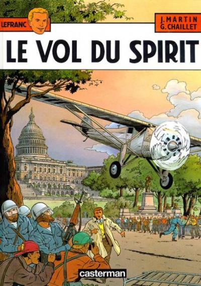 image de Lefranc tome 13 - le vol du spirit