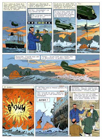 Page 1 Lefranc tome 13 - le vol du spirit