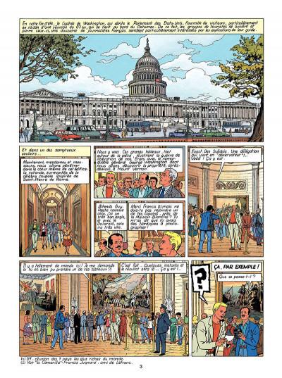 Page 4 Lefranc tome 13 - le vol du spirit