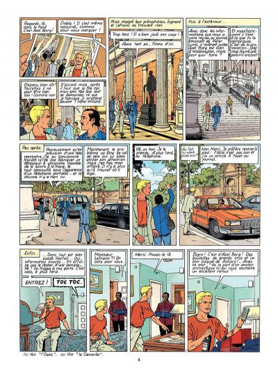 Page 5 Lefranc tome 13 - le vol du spirit