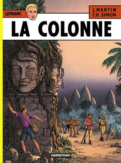 image de Lefranc tome 14 - la colonne