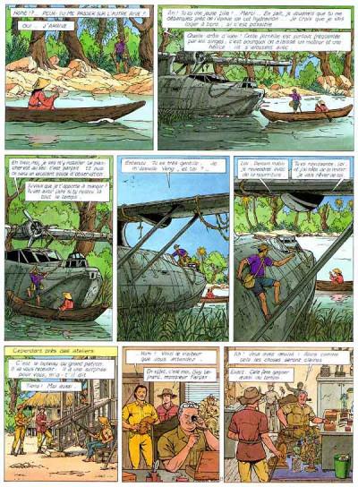 Page 1 Lefranc tome 14 - la colonne