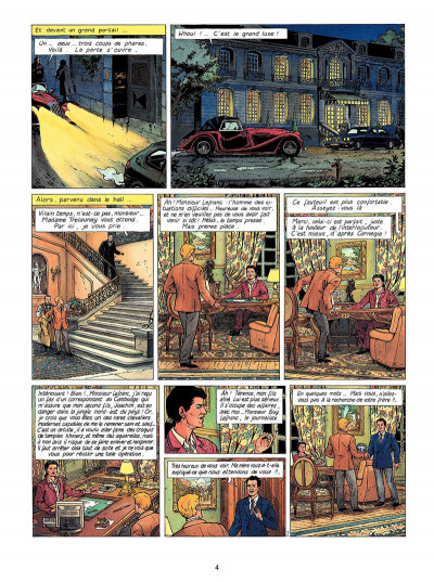 Page 5 Lefranc tome 14 - la colonne