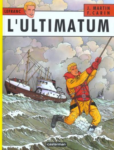 Couverture Lefranc tome 16 - l'ultimatum