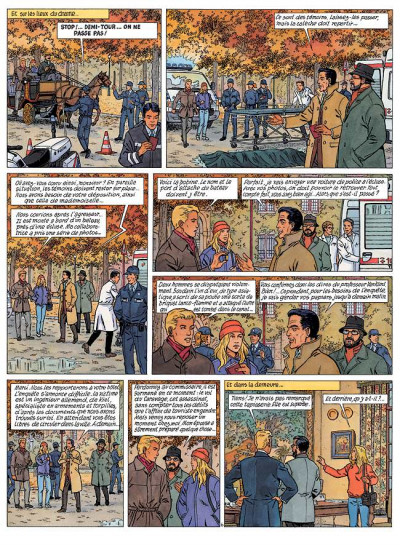 Page 6 Lefranc tome 16 - l'ultimatum