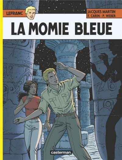 image de Lefranc tome 18 - la momie bleue