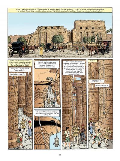 Page 4 Lefranc tome 18 - la momie bleue