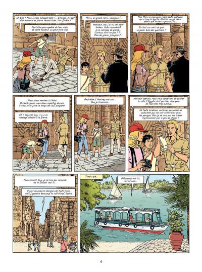 Page 5 Lefranc tome 18 - la momie bleue