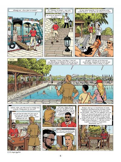 Page 6 Lefranc tome 18 - la momie bleue