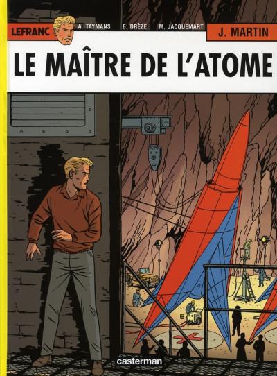 image de Lefranc tome 17 - le maître de l'atôme