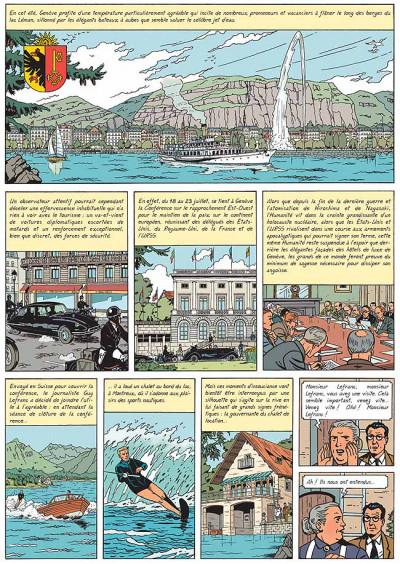 Page 1 Lefranc tome 17 - le maître de l'atôme