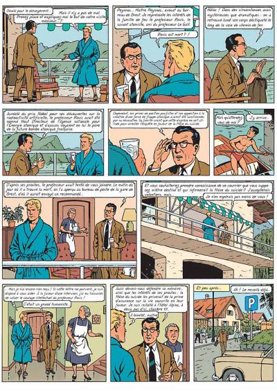 Page 3 Lefranc tome 17 - le maître de l'atôme