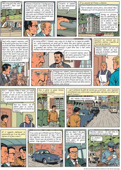 Page 4 Lefranc tome 17 - le maître de l'atôme