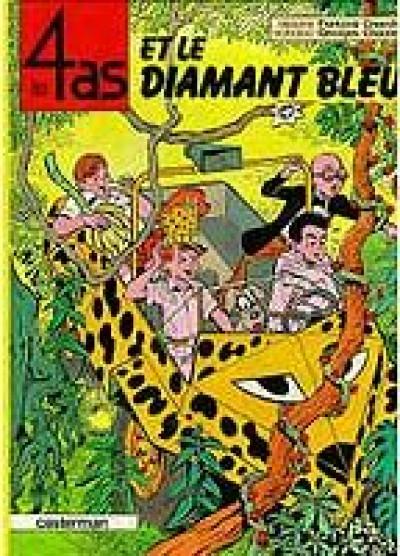 image de Les 4 as tome 17 - et le diamant bleu