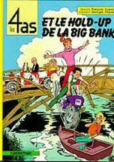 image de Les 4 as tome 22 - et le hold-up de la big bank