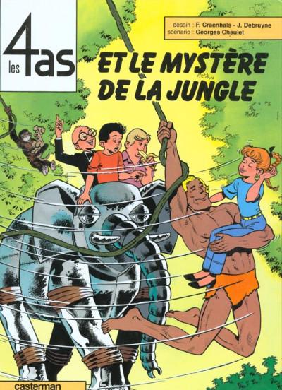image de Les 4 as tome 29 - et le mystère de la jungle
