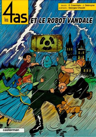 Couverture Les 4 as tome 32 - et le robot vandale