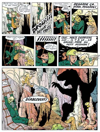 Page 1 Les 4 as tome 35 - et les dinosaures