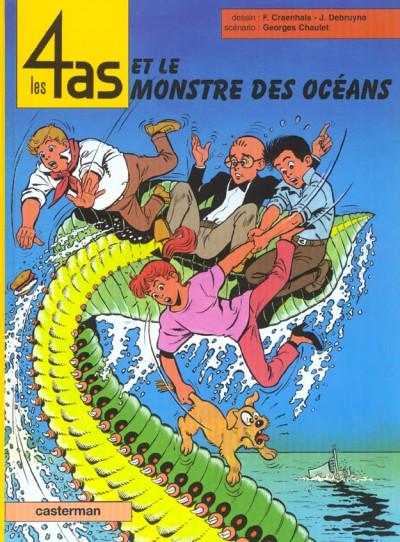 image de Les 4 as tome 38 - et le monstre des océans