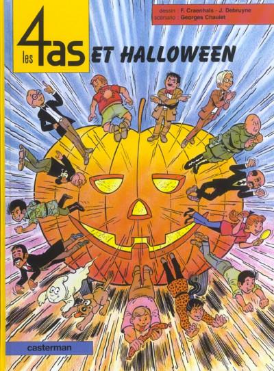 Couverture Les 4 as tome 39 - et halloween