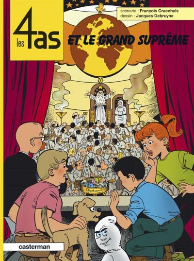 Couverture Les 4 as tome 41 - et le grand suprême