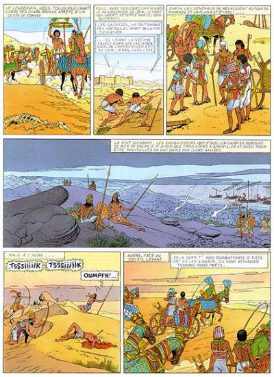 Page 1 Keos tome 3 - le veau d'or