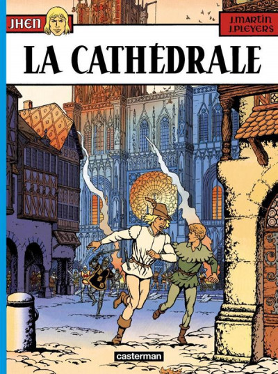 Couverture Jhen tome 5 - la cathedrale
