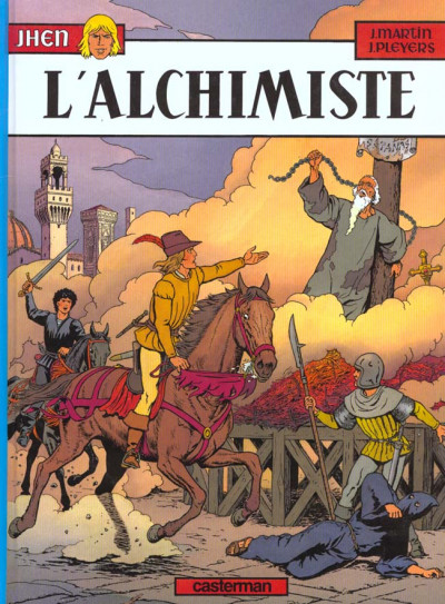 Couverture Jhen tome 7 - l'alchimiste