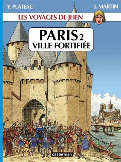 image de Les voyages de jhen - paris tome 2 - ville fortifiée