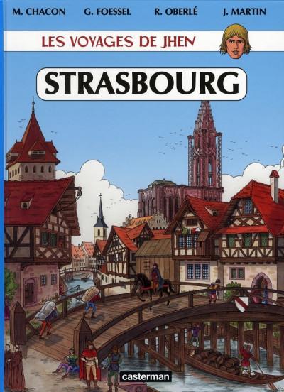 Couverture Les voyages de jhen - strasbourg