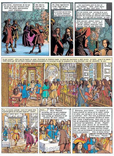 Page 4 Loïs tome 1 - le roi-soleil