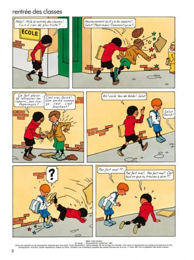 Page 1 quick et flupke tome 8 - vive le progrés