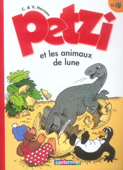 Couverture Petzi tome 22 - petzi et les animaux de lune