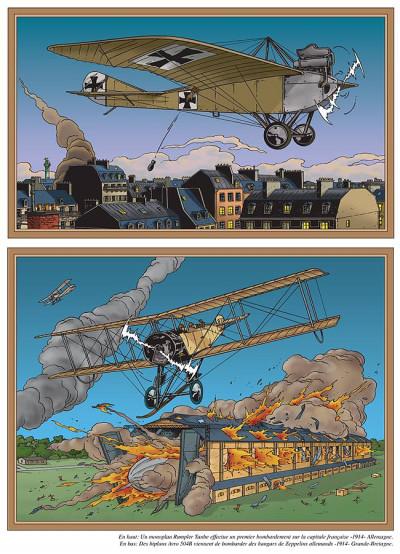 Page 1 Les voyages de lefranc - l'aviation tome 2 - de 1914 à 1916