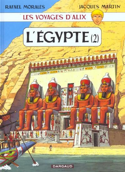 Couverture les voyages d'alix tome 9 - l'égypte tome 2