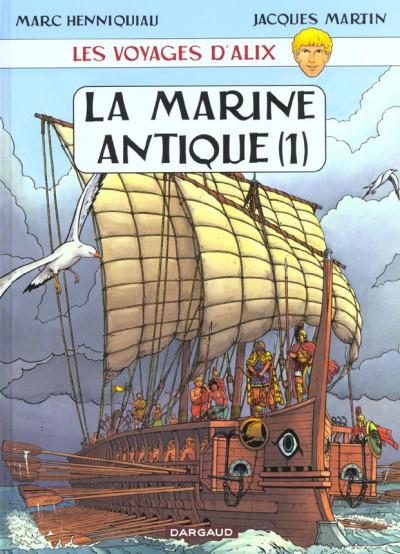 Couverture Les voyages d'alix tome 3 - la marine antique tome 1
