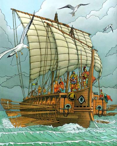 Page 1 Les voyages d'alix tome 3 - la marine antique tome 1