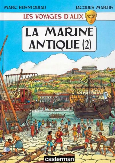 Couverture les voyages d'alix tome 7 - la marine antique tome 2
